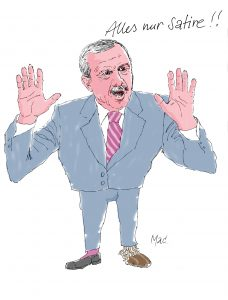 Erdogan Cartoon